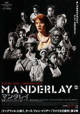 Manderlay - Original Japanese Chirashi Mini Poster - Lars Von Trier