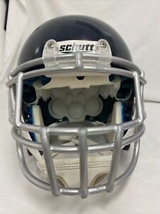 Schutt Air XP Used Large Helmet In Navy blue W/Mask