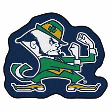 Notre Dame Fighting Irish Leprechaun Mascot Area Rug Floor Mat