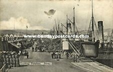 channel islands, Loading Potatoes in the Harbour (1908) Stamps