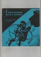 insoshiro honda Haas 3 FESTIVAL DEL FILM DI FANTASCIENZA trieste 1965