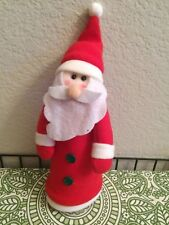 Santa Christmas Tree Top Topper on Plastic Cone by Greenbrier International