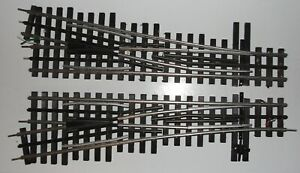 Ross O Gauge RH & LH Switch Tracks – Pre-owned