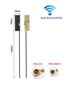 2.4&5GHz WiFi Antenna 2.5dBi/FPC/U.FL or IPEX4 Plug(RF1.13(AWG32) coaxial