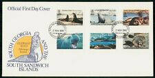 Mayfairstamps South Georgia South Sandwich FDC 1991 Elephant Seal Combo First Da