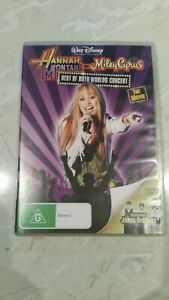 Hannah montana x 2 dvds pack, Region 4, Rated G, few marks but play well