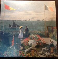 "Battle Road Press Terrace Sainte-Adresse Monet Jigsaw NIP New Puzzle 18""x24"""