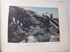 ALGERIE : Gravure 19° in folio couleur / MASCARA:LE RAVIN DE L'OUED-TOUDMAN