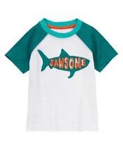 Gymboree Rock the Waves Scuba Shark Jawsome Tee Shirt Top Boys 2T NEW NWT