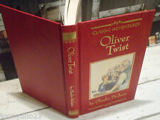 Oliver Twist- Charles Dickens- HB- Classic Adventures - 1990
