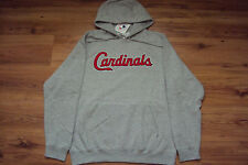 ST. LOUIS CARDINALS NEW MLB MAJESTIC 300 HITTER HOODED SWEATSHIRT