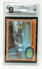 1977 Topps Star Wars #265 Anxious Moments for the Rebels Graded Mint 9