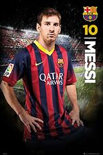 """Lionel Messi - Barcelona FC - Soccer Poster - 24"""" X 36""""- NEW"""