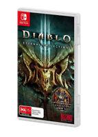 Diablo III 3 Eternal Collection RPG Fighting Adventure Game Nintendo Switch NSW