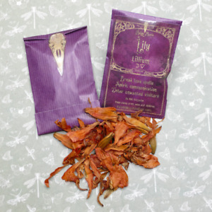 Lily flower apothecary holistic magical, witchcraft, soapmaking, bath, spells