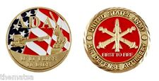 ARMY FORT SILL ADA AIR DEFENSE ARTILLLERY IF IT FLIES IT DIES  CHALLENGE COIN