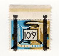 (I.B) George VI Revenue : National Insurance 10/9d