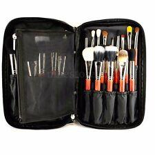 Pro 10' Cosmetic Makeup Brush Bag Case Handle Organizer Holder Pouch Pocket Kit