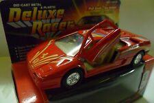 WELLY DIE CAST METAL & PLASTIC DELUXE RACER FERRARI ROSSO RED  ART 9044