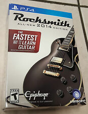 Rocksmith - 2014 Edition Bundle for PS4, Real Tone Cable Included - New & Sealed