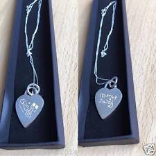 Sterling Silver Heart Pendent -  Kids Drawing Unique Gift...
