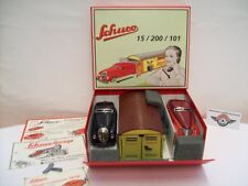 Schuco 01071, garage con comando e svolta auto (Made in Germany) replica 1995