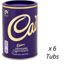 CADBURY DRINKING CHOCOLATE 250g x 6 TUBS HOT CHOCOLATE CATERING SUPPLIES 177256