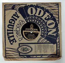78T Emile VACHER Accordéon Disque Phonographe C'EST A SURESNES - ODEON 238336