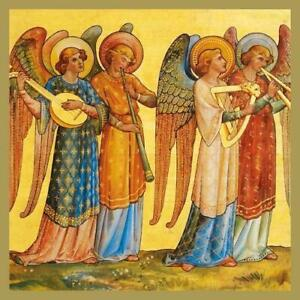Christmas Cards - Pack of 5 by William Burges - Angel Musicians