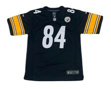 Nike On Field Pittsburgh Steelers Antonio Brown 84 Home Jersey NFL Youth Large