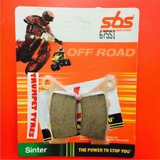 KTM SX-F 520 Racing 00 > 02 SBS Rear Off Road Sinter Brake Pads EO QUALITY 675SI