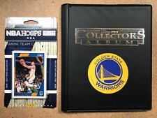 Official 2016-17 Golden State Warriors Team Set Steph Curry Durant + Album Decal