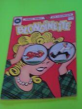 1979 BLONDINETTE BLONDIE & DAGWOOD #55-56  FRENCH HERITAGE EDITION RARE