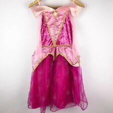 Disney Parks Aurora Sleeping Beaty Pink Dress Up Costume Girls Size M 7 8