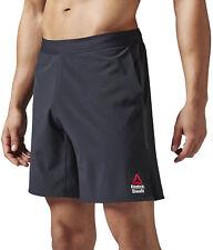 Reebok Crossfit Super Nasty Speed II Mens Black Running Gym Shorts Pants Bottoms S