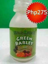 "green barley ""ORGANIC AND NATURAL FOOD SUPPLEMENT"""