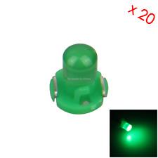 20x Green AUTO T3 Lamp NEO Dash Twist Socket HVAC Cluster Light 1 LED Z2954