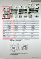 "SOSS #BH164 BARREL-TYPE CONCEALED HINGES,16mm DIAMETER FOR 7//8/"" OR THICKER DOOR"
