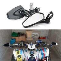 Black ATV UTV Rear View Side Mirrors For Suzuki Quadsport Z400 LTZ400 LTZ-400 US