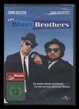 DVD THE BLUES BROTHERS - JOHN BELUSHI + DAN AYKROYD + CARRIE FISHER *** NEU ***