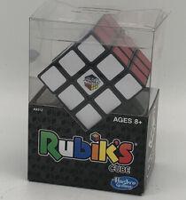 Rubiks Cube 3x3 Original Brain Teaser Puzzle Strategy w/Stand Hasbro Brand New