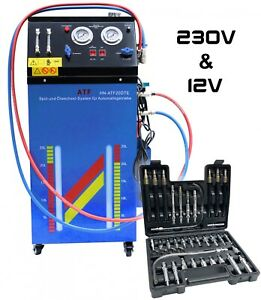 Getriebespülgerät 12V & 230V Getriebeöl Ölabsauggerät Wechsel Spülung Ölwechsel