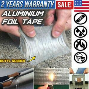 Super Adhesive Strong Waterproof Tape Butyl Seal Aluminum Foil Magic Repair~Tape