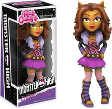 "FUNKO ROCK CANDY MONSTER HIGH CLAWDEEN WOLF 5"" DESIGNER VINYL FIGURE"