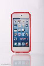 Apple iPod Touch 5 Bumper Custodia in silicone rosso Custodia GUSCIO COVER GUSCIO CASE