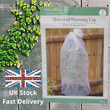 Universal Plant Warming Cap With Adjustable Fasteners Protective Cover Pack Of 2
