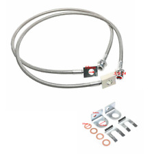 Front Extended Brake Line Kit Fit Jeep Cherokee Tj Yj Xj Dot