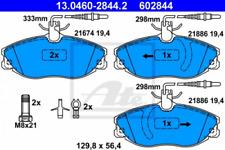 Bremsbelagsatz, Scheibenbremse für Bremsanlage Vorderachse ATE 13.0460-2844.2