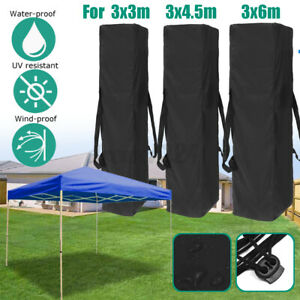 3Sizes Gazebo Marquee Carry Bag Garden Outdoor Polyester Fabric W/ 2Side Handles
