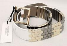Versace Leather Studded Gold Buckle Belt SZM- RRP430GBP